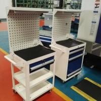 Chrome Surface Tool Racking Systems Hanging Board 250 Kgs Per Layer Stable