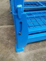 Electro Zinc Plated Storage Cages On Wheels 500-2000kg 100mm Height Wheel