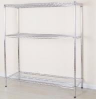 Powder Coated Tool Storage Rack Corrosion Protection Standing Type Eco -