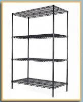 Commercial Shelving Tool Storage Rack NSF 4 Tier Chrome Wire Shelf Durable