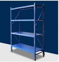 Adjustable Distance Warehouse Storage Racking Metal Shelving Large Capacity