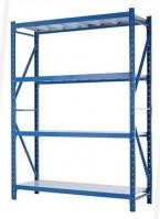 Corrosion Protection Warehouse Storage Racks Customized Layers Cold Rolled Steel