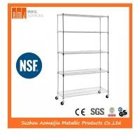 Zinc NSF Stainless Steel Wire Shelving , Trinity Eco Storage Wire Shelving