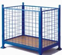 Easy Operation Security Cages For Storage , Warehouse Storage Cages Rust Free