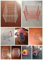 Easy Installation Commercial Shopping Trolley Anti - Rust Customized Color