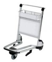 Stable Airport Luggage Trolley Shopping Cart With Brake 250 Kgs Per Layer
