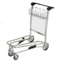 Strong Structure Airport Push Cart , Smart Cart Airport High Efficiency