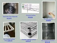 Zinc Chrome Commercial Refrigeration Equipment Dip Plastic Wire Products Fence