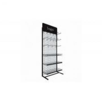 Black Tool Storage Rack High Strength Household Chrome Metal Wire Shelving