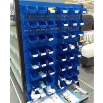 Pegboard Tools Display Stand Tool Rack With Wheels , Home Hardware Shelving