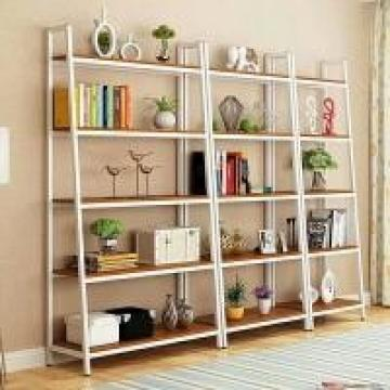 Industrial Wood And Metal Shelves , Heavy Duty Metal Steel Iron And Wood