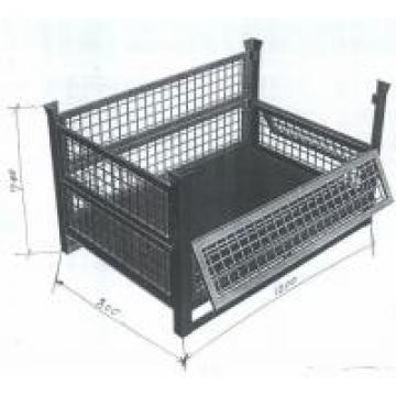 Custom Size Wire Container Storage Cages , Metal Cage Storage Durable Electro