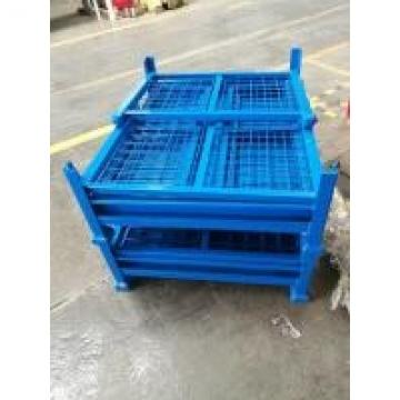 Automobile Factory Storage Large Storage Cage , Equipment Storage Cage Full