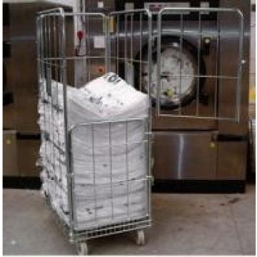 Roll Container Logistics Trolley Racks Folding Pallet Foldable Powder Coating