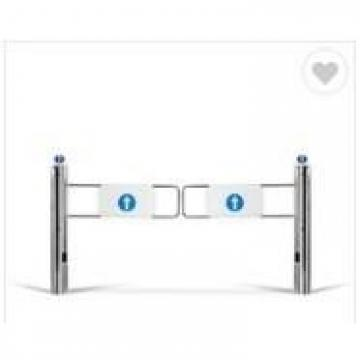 90 Degrees Turnstile Entrance Gates , Turnstile Security Systems Swing Gates