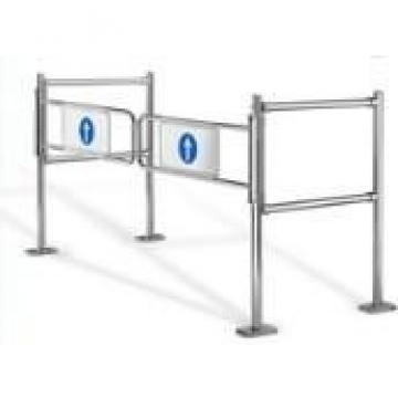 Carbon Steel Controlled Access Turnstiles , Access Control Turnstile Gate