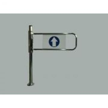 Electric Turnstile Swing Gate , Access Control Barriers Double Movement