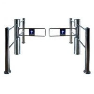 Exit Attendance Turnstile Swing Gate , Access Control Barriers Hoverport