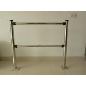 Four Arm Swing Gate Turnstile Security Access Double Movement Customized Color