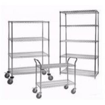 18*48*72'' Commercial Shopping Trolley NSF Household Light Duty 4 Tiers