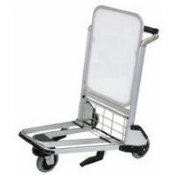 Platform Structure Airport Passenger Trolley Unfolding Silver Stainless Steel
