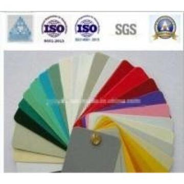 Non - Toxic Polyester Powder Coat Paint Ral Colours Thermosetting Solvent Free