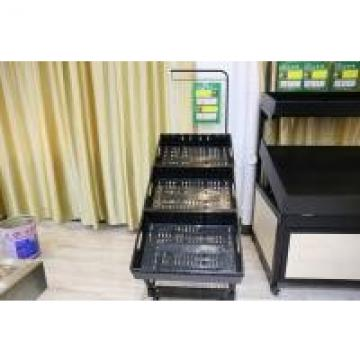 Metallic Fruit And Vegetable Display Stand , Fruit Vegetable Display Rack