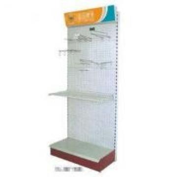 White Silver Pegboard Tool Rack Adjustable Freely W1000 X D450 X H2000 Mm