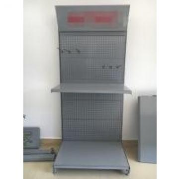 Zinc Chrome Pegboard Tool Rack With Pegboard Hooks Silver With Casters