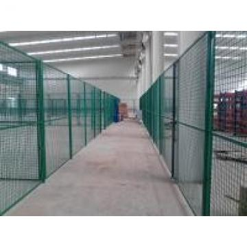 Easily Assembled Double Wire Mesh , Garden Wire Fence Panels Eco - Friendly