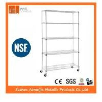 Stable NSF Metal Shelving , NSF Certified Shelving Powder Coating Surface