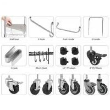 Chrome Shelving Hook Hooking Trinity Wire Shelving , Wire Shelving Drawers