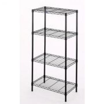 NSF Racking Household Shelf Chrome Wire Mobile Shelving