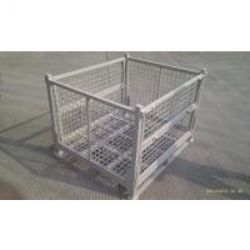 Transportation Storage Cages On Wheels Silver Custom Color Stainless Steel