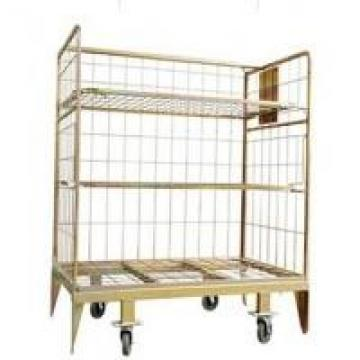 Euro Warehouse Logistic and Storage Cart with Shelf manufacture factory