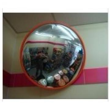 Supermarket Used 60cm Polycarbonate Outdoor Convex Mirror /Underground Garage /
