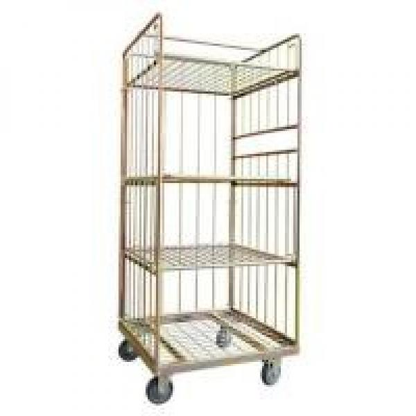 Euro Warehouse Logistic and Storage Cart with Shelf manufacture factory #1 image